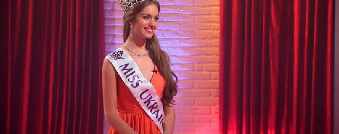 """""""Мисс Украина"""" не справилась с проверкой Осадчей на знание мировой политики"""