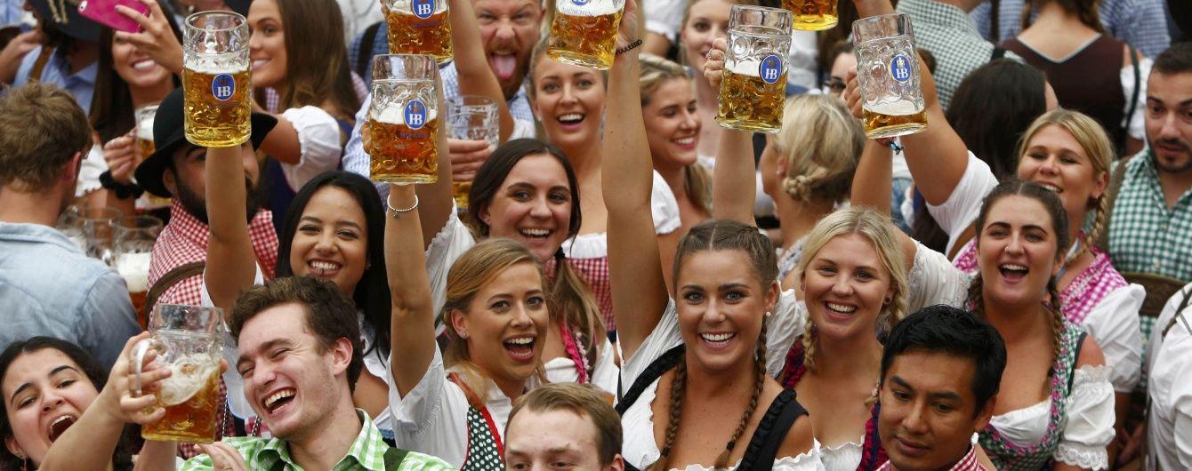 Впервые в мюнхенском Октоберфесте приняли участие украинцы
