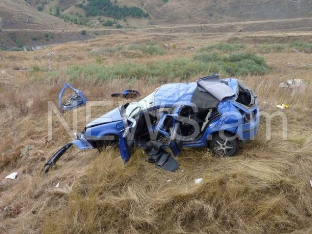 Смертельное ДТП в Армении: погибли двое российских военных