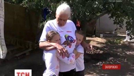 У Запоріжжі соцслужби хотіли забрати дітей у бабусі, яка виховує внуків на одну пенсію