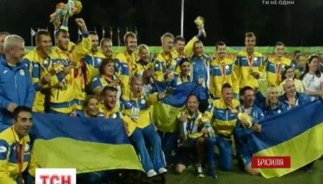 Украинская паралимпийская сборная имеет 107 медалей за день до окончания соревнований