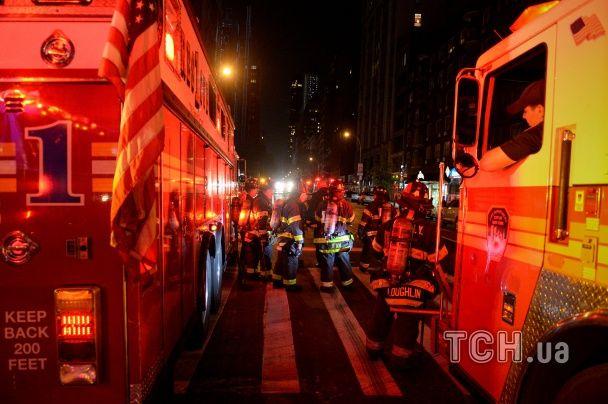 В центре Нью-Йорка прогремел взрыв, десятки пострадавших