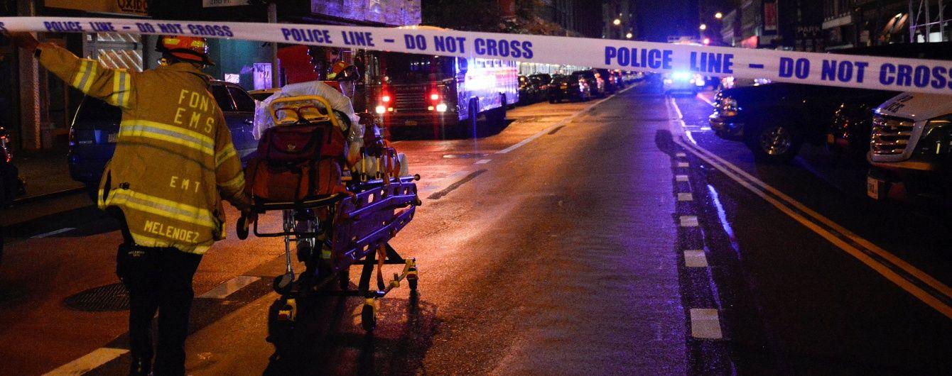 Появилось видео момента взрыва на Манхэттене в Нью-Йорке