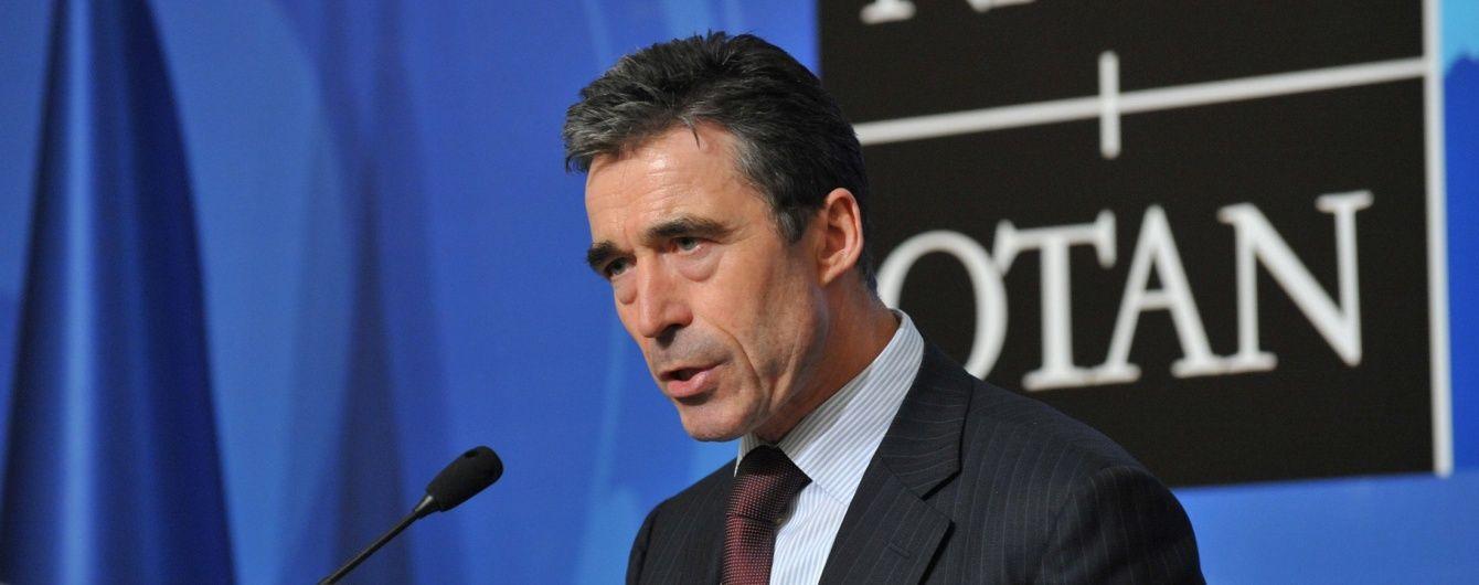 У НАТО не вірили, що Росія колись нападе на Україну - Расмуссен