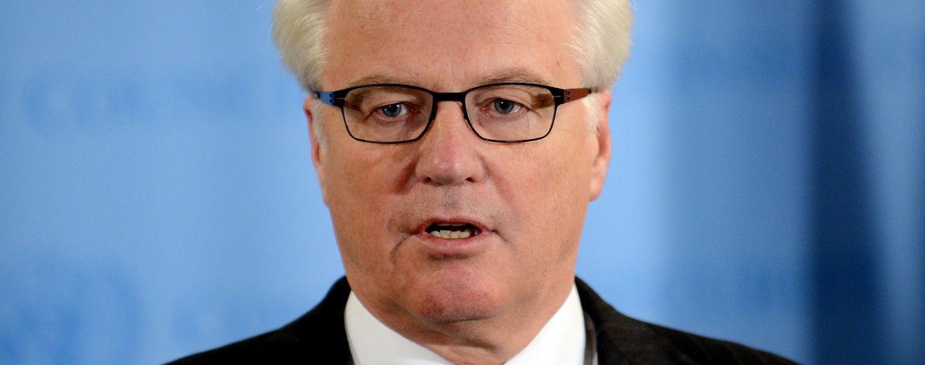 Чуркин сбежал с заседания Совбеза ООН после обвинений в цинизме