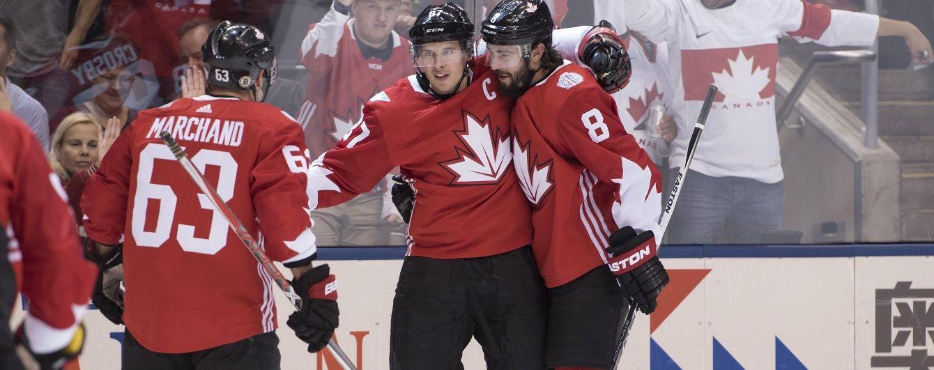 Канадське домінування. Відбулися два перші матчі Кубка Світу з хокею