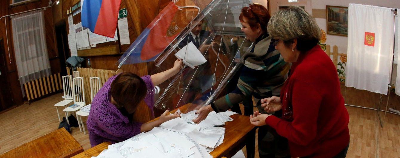 Экзитполы предсказывают проход четырех партий в российскую Госдуму