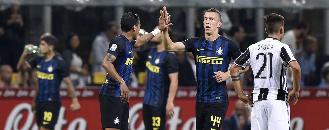 """""""Интер"""" впервые за 4 года победил """"Ювентус"""" в чемпионате Италии"""