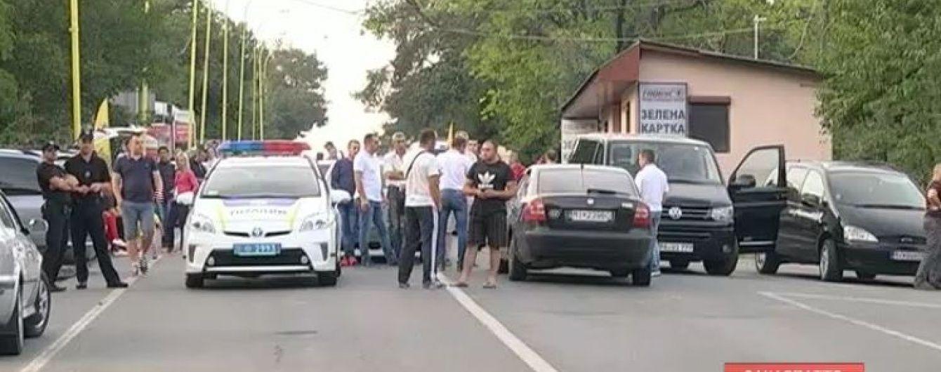 Полиция открыла производство из-за перекрытия украинско-словацкой границы