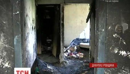 На Днепропетровщине неудачное самоубийство лишило жилья полсотни людей
