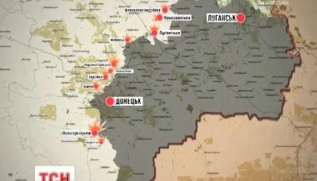 На Луганщині група диверсантів намагалася атакувати Новозванівку