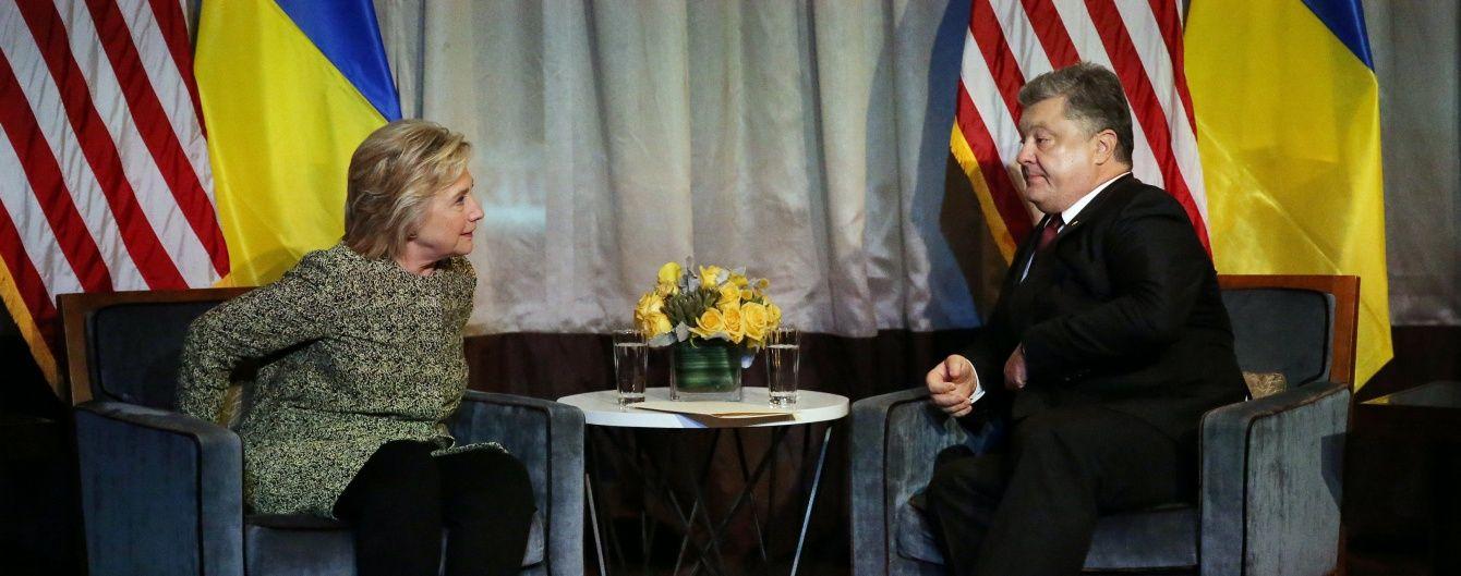 Американцы будут выбирать лидера мира в лице нового президента США – Порошенко