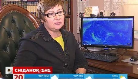 В Украину циклон несет дожди