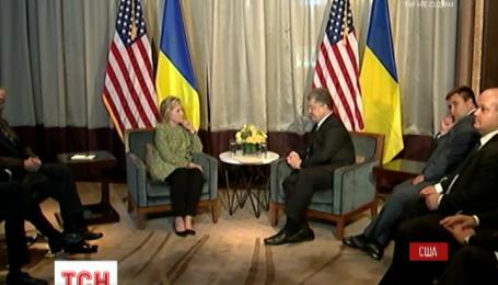 Президент Украины отблагодарил США за поддержку