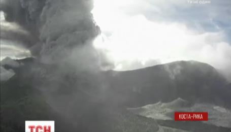 В Коста-Рике проснулся вулкан Турри-Альба
