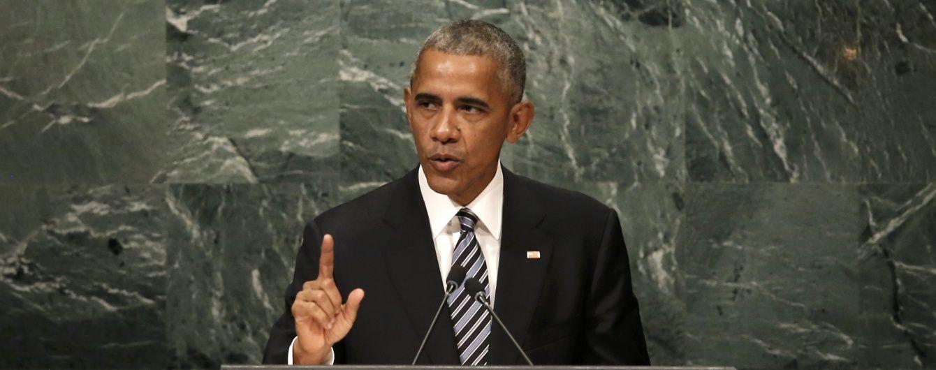 В останній промові на Генасамблеї ООН Обама передбачив ослаблення Росії