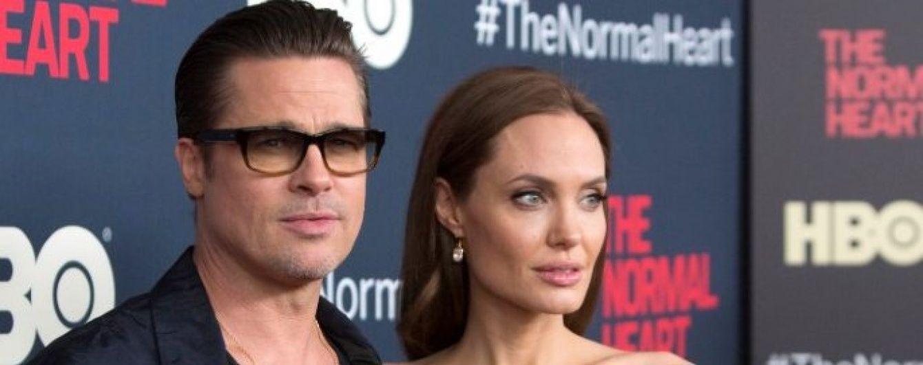 Питт нарушил молчание относительно развода с Джоли