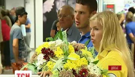 Украинские паралимпийцы возвращаются на родину