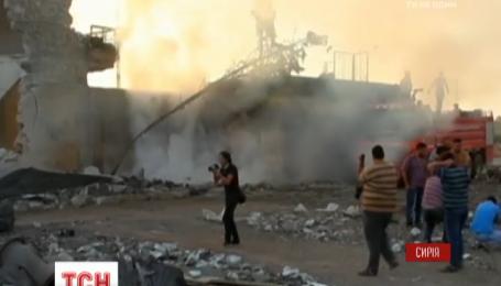 В Сирии разбомбили гуманитарную колонну ООН