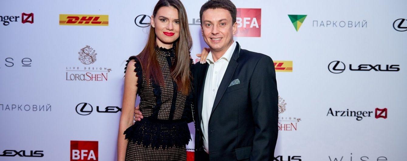 """Ведучі програми """"Профутбол"""" Лобода та Циганик відвідали модну премію BEST FASHION AWARDS"""