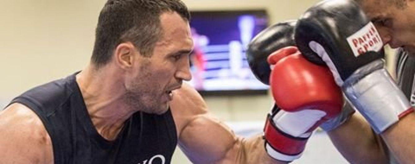 Кличко начал очередную подготовку к реваншу с Фьюри