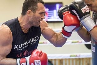 Кличко розпочав чергову підготовку до реваншу з Ф'юрі
