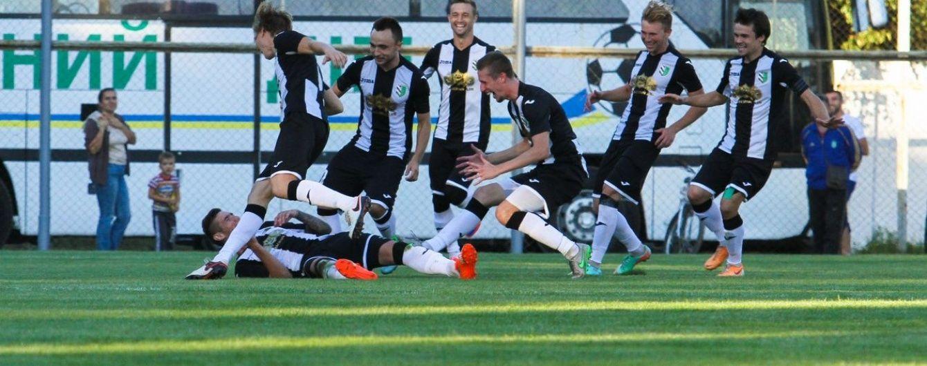 Перша команда Прем'єр-ліги вилетіла з Кубка України