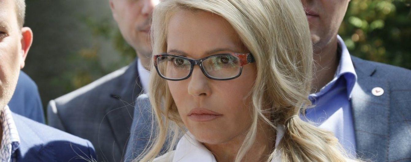 Вместо работы в Раде Тимошенко крестила внучку