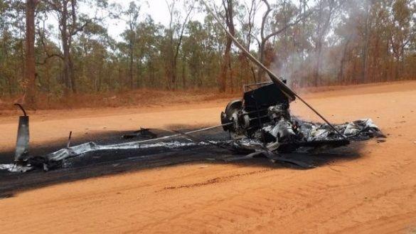 В Австралії корова на фермі збила гелікоптер
