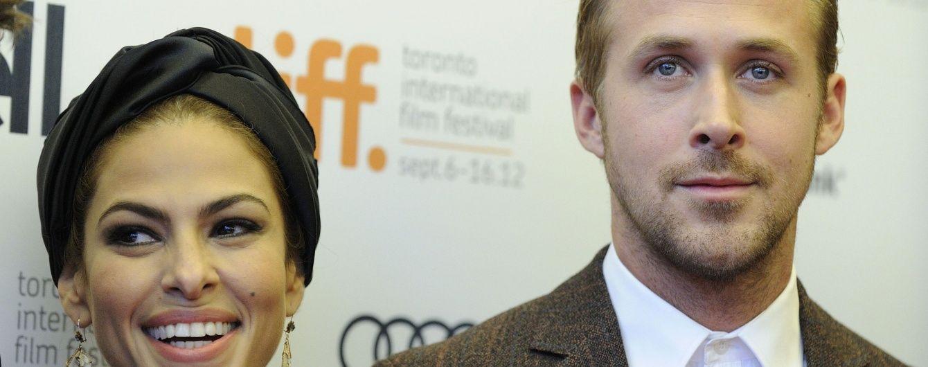 Голливудские звезды Ева Мендес и Райан Гослинг поженились