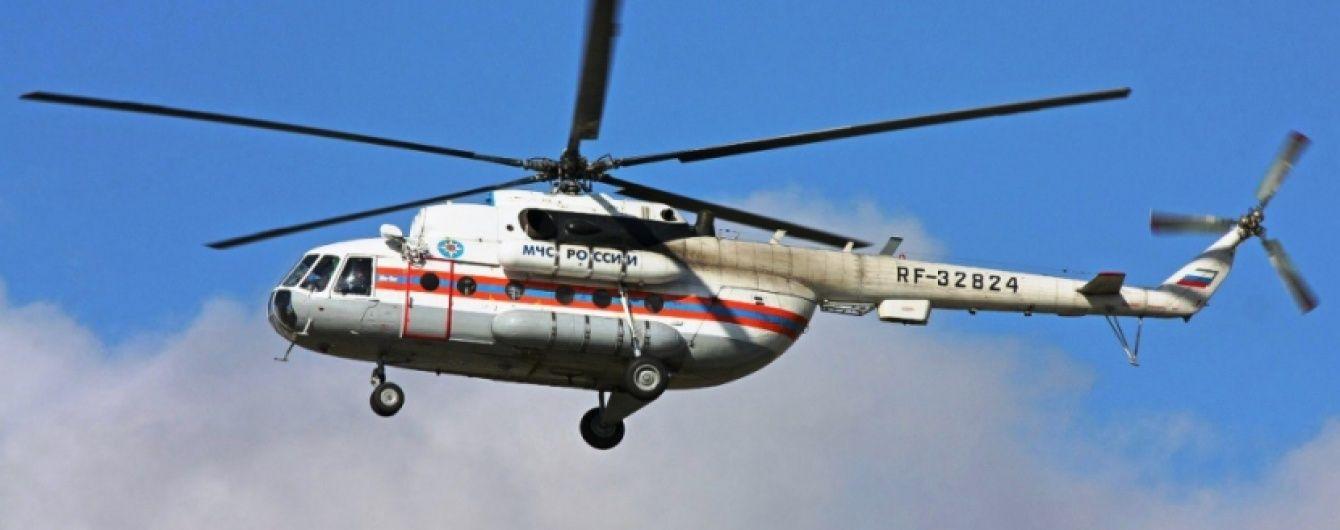 У Підмосков'ї розбився вертоліт МНС Росії, увесь екіпаж загинув