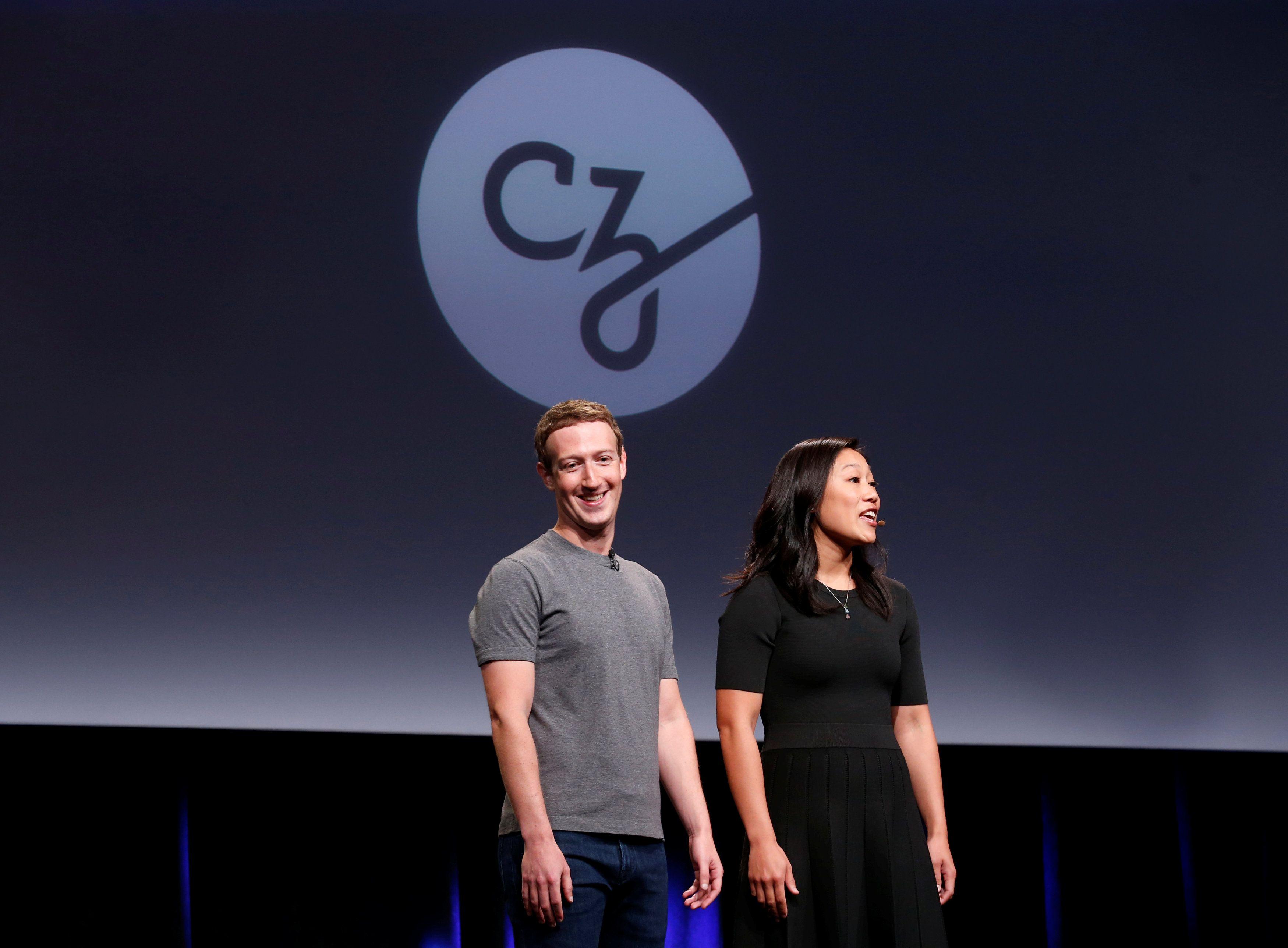 Марк Цукерберг та Прісцилла Чан