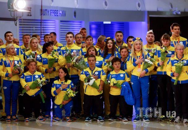 Украинские паралимпийцы посвятили победу в Рио воинам АТО