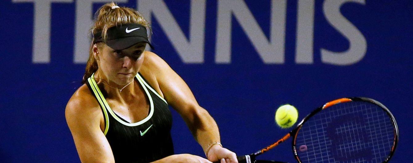 Украинская теннисистка Свитолина победила россиянку в поединке за четвертьфинал турнира в Японии