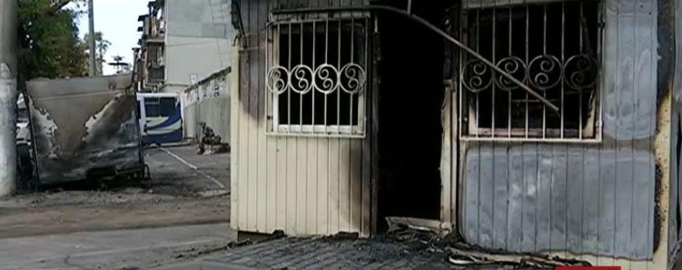 В Одесі внаслідок підпалу на нелегальній автостанції загинув сторож