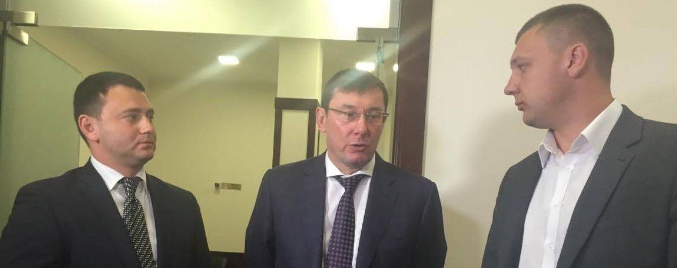Луценко ознайомився з роботою оновленої приймальні громадян у прокуратурі Одещини