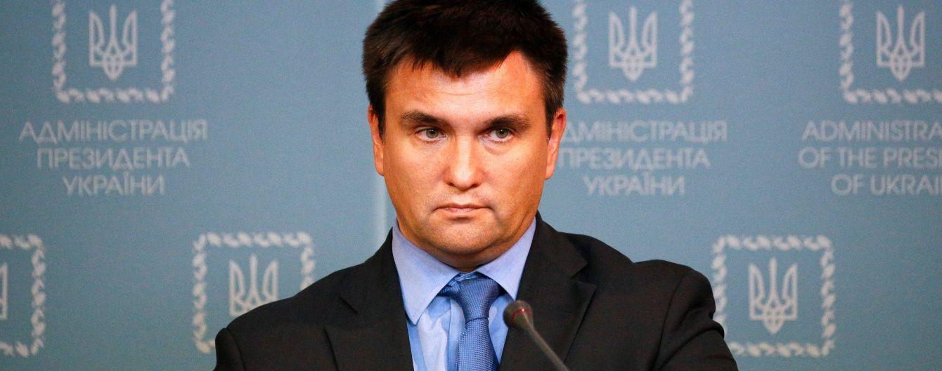 Россия из оккупированного Крыма создает серьезную угрозу для авиаперелетов над морем - Климкин