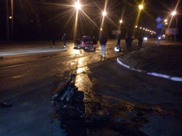 Мощное столкновение в Полтаве: в разбитых авто пострадали пять человек