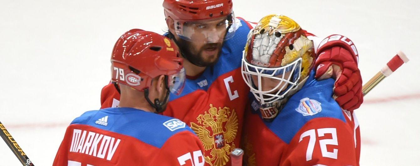 Россия и Канада сыграют в полуфинале хоккейного Кубка Мира