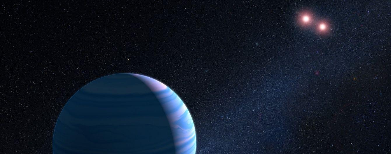 Астрономы нашли планету сразу с двумя Солнцами