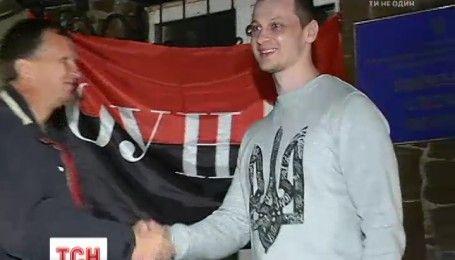 """Руководителя общественного корпуса """"Азов"""" Краснова выпустили из Лукьяновского СИЗО"""