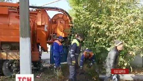 Жители города Черноморск, что в Одесской области, оказались без воды