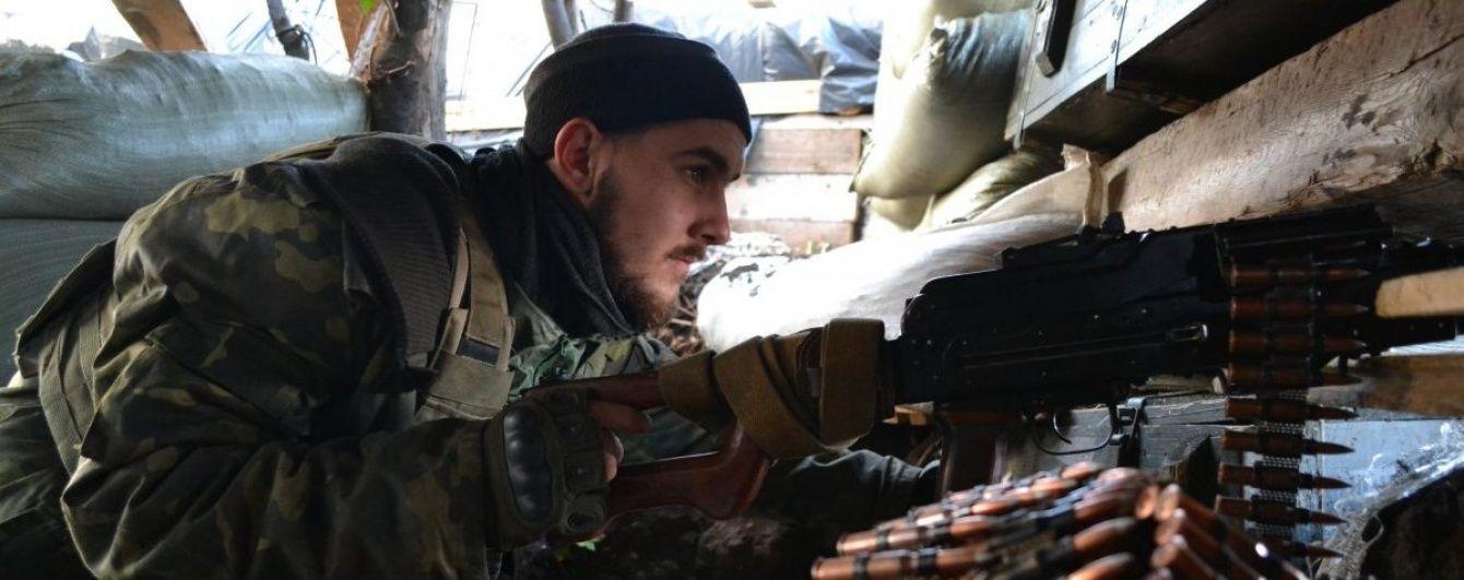 За минувшие сутки на Донбассе погиб один украинский военный