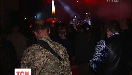 Концерт воинов АТО состоялся в Октябрьском дворце