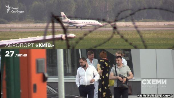 Гліб Загорій біля літака