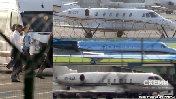 Новинський та різні літаки