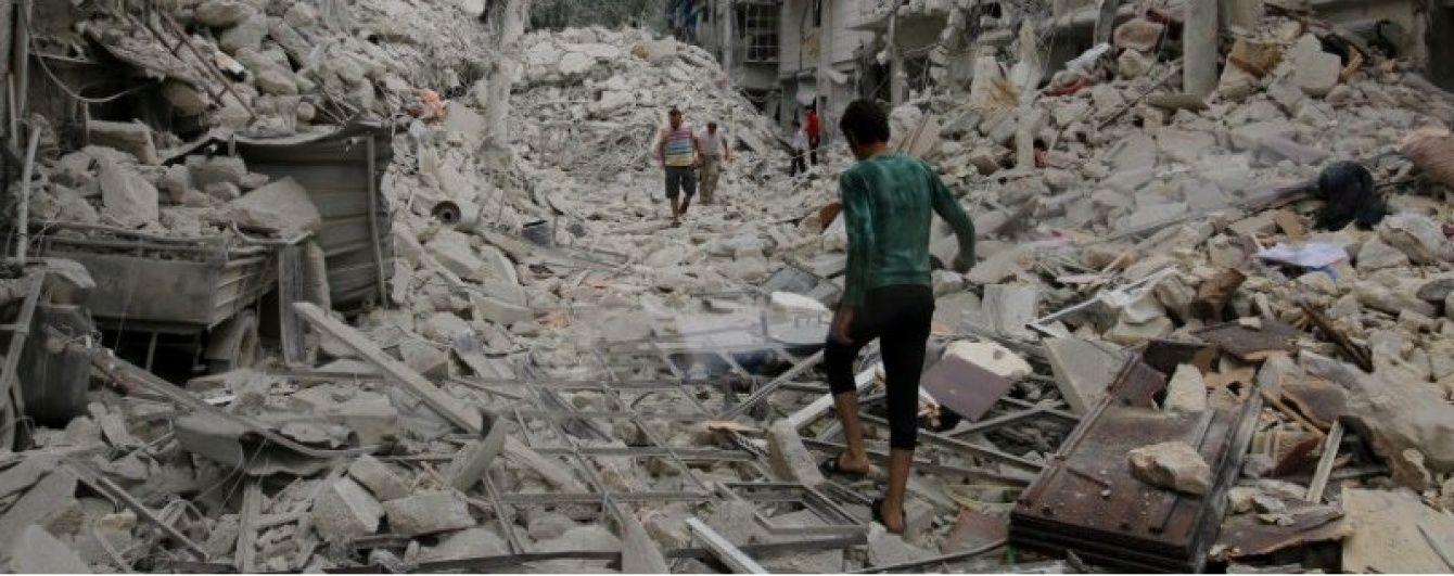 У сирійському Алеппо застосували касетну бомбу і розгромили найбільший госпіталь – Guardian