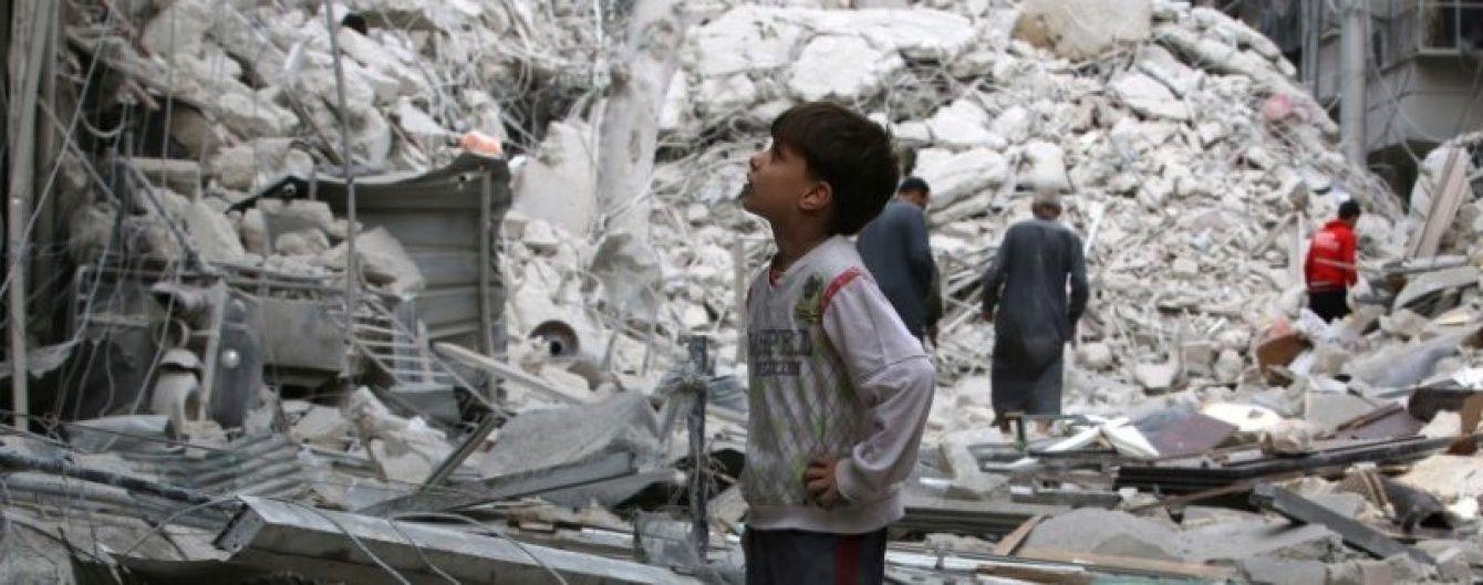 Спутниковые снимки показали, как Алеппо превратился в руины