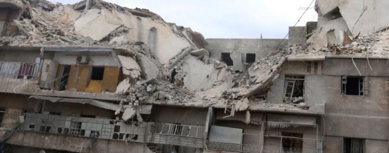 """Росія бомбардувала Алеппо """"вакуумними бомбами"""" - ЗМІ"""