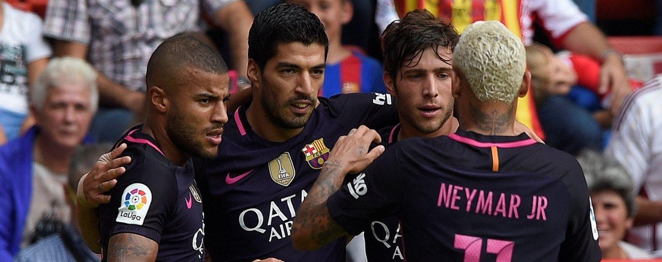 """Барселона"" не заметила ""Спортинг"" в матче 6 тура чемпионата Испании"